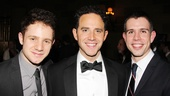 It's a Sons of the Prophet reunion for Chris Perfetti Cinderella star Santino Fontana and playwright Stephen Karam.