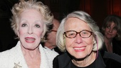 Star Holland Taylor gets close to Ann Richards real-life bestie, famed columnist Liz Smith.