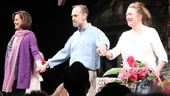 Stars Sigourney Weaver, David Hyde Pierce and Kristine Nielsen take their opening night bows in Vanya and Sonia and Masha and Spike.