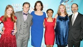 The full cast! Genevieve Angelson, Billy Magnussen, Sigourney Weaver, Shalita Grant, Kristine Nielsen and David Hyde Pierce dress to the nines on opening night!