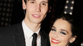 Who can resist this perfect pair? Catch Cory Michael Smith and Emilia Clarke in their Broadway debuts in Breakfast at Tiffany's!