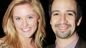 Bring It On star Taylor Louderman and co-composer Lin Manuel Miranda are excited to catch Amanda Green's latest musical.