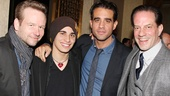 Dallas Roberts, Jacob Cannavale, Bobby Cannavale and Danny Mastrogiorgio make one finely dressed foursome.