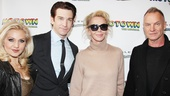 Here are two couples we love: Broadway darlings Orfeh and Andy Karl and the world-famous Trudie Styler and Sting.