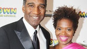 It wouldn't be an opening night on Broadway without Norm Lewis and LaChanze.