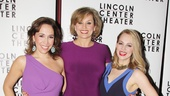 The ladies of The Nance, Andrea Burns, Cady Huffman and Jenni Barber, show off their fabulous opening night looks.
