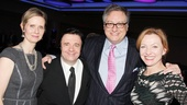 Douglas Carter Beane surrounds himself with stars from his different productions: Cynthia Nixon (The Country Club), Nathan Lane (The Nance) and Julie White (The Little Dog Laughed).