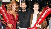 Billy Martin Ricky Martin and Stark Sands say so long for now. Hurry back to Broadway, Ricky!