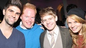 Justin Mikita and Jesse Tyler Ferguson (headed to Central Park in The Comedy of Errors) join in the fun with sibling duo Andrew and Celia Keenan-Bolger (who co-starred with Ferguson in Broadway's 25th Annual Putnam County Spelling Bee).