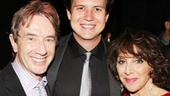 SCTV reunion! Martin Short and his son Henry wouldn&#39;t miss Andrea Martin&#39;s opening night in Pippin!