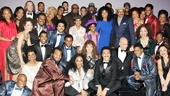 Brandy, the Temptations and Terry McMillan all came out to see Motown: The Musical on Broadway—so why don't you?! Check out the action at the Lunt-Fontanne Theatre!
