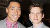 Broadway besties Charl Brown of Motown and Kinky Boots&#39; Stark Sands have come a long way since becoming friends in collegetheyre both Tony nominees!