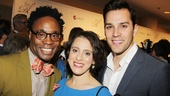 Kinky Boots showstopper Billy Porter poses with Passion's leading duo, Judy Kuhn and Ryan Silverman.