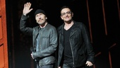 Spider-Man - 1000th Performance - The Edge - Bono