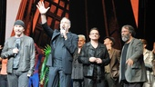 Spider-Man - 1000th Performance - The Edge - Phillip William McKinley - Bono - Michael Cohl