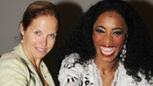 Katie Couric stops (in the name of love!) with the show's resident Supreme, Valisia LeKae.