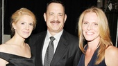 Tom Hanks poses with Theatre World Awards producers Erin Oestreich and Mary K. Botosan. Congrats to all the winners!