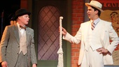 Jesse Tyler Ferguson and Hamish Linklater in The Comedy of Errors.