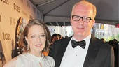 A big congrats to Who's Afraid Virginia Woolf nominee Carrie Coon and Tony winner Tracy Letts, who met during the show's run and recently got engaged.