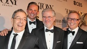 Tony Red Carpet-Nicholas Martin- Billy Magnussen- Christopher Durang-  John Augustine