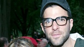 'The Comedy of Errors' Opening in Central Park — Celia Keenan-Bolger — Zachary Quinto