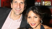 Daphne Rubin-Vega is all smiles with her husband, Tommy Costanzo, and their son, Luca.