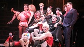 Hunter Foster (not pictured) directs the campy and kooky company of The Rocky Horror Picture Show just in time for Halloween.