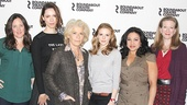 Machinal – Press Event – Karen Walsh - Rebecca Hall - Suzanne Bertish - Ashley Bell - Maria-Christina Oliveras - Henny Russell