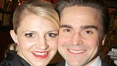 Annaleigh Ashford happily poses with her husband, actor Joe Tapper.