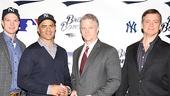 Bronx Bombers Meet the Press- John Wernke - Christopher Jackson - C. J. Wilson - Chris Henry Coffey