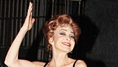 Annie Potts hitches a ride with Pippin players Preston Jamieson (who flies high on the trapeze with Potts in the hit musical) and Orion Griffiths.