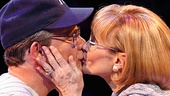 Peter Scolari as Yogi Berra & Tracy Shayne as Carmen in Bronx Bombers