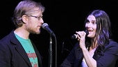 If/Then stars Anthony Rapp and Idina Menzel reunite on stage almost two decades after wowing the world in Rent.