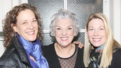 Bullets Over Broadway stars Karen Ziemba and Marin Mazzie rally around Mother and Sons headliner Tyne Daly.