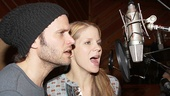 Bridges headliners Steven Pasquale and Kelli O'Hara make beautiful music in the recording booth.