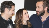 Of Mice and Men stars James Franco, Leighton Meester and Chris O'Dowd are fast friends.