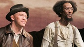Of Mice and Men - Preview Curtain Call - OP - 3/14 - Alex Morf - Ron Cephas Jones