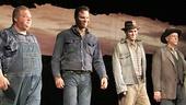 Of Mice and Men - Preview Curtain Call - OP - 3/14 - Joel Marsh Garland - Jim Parrack - James McMenamin - Jim Ortlieb
