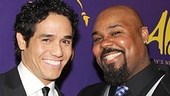 Adam Jacobs & James Monroe Iglehart