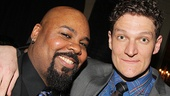 James Monroe Iglehart hangs out with his pal, Casa Valentina star Gabriel Ebert.