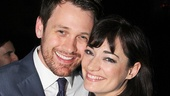 Broadway alum Michael Arden and Mary Poppins favorite Laura Michelle Kelly kick back at the starry party.