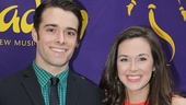 Newsies co-stars Corey Cott and Liana Hunt wouldn't miss the new Disney extravaganza!