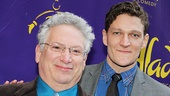 Casa Valentina playwright Harvey Fierstein strikes a pose with the play's star, Gabriel Ebert.