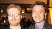 Anthony Rapp and James Snyder play the two men in Elizabeth's life in If/Then.