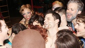 Pippin pileup! The stars get some love from their castmates.