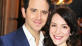 Act One  star Santino Fontana enjoys a date night with his girlfriend Jessica Hershberg.