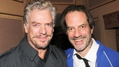 Rocky star Danny Mastrogiorgio (r.) gets another special visitor—his former Lucky Guy co-star Christopher McDonald!