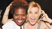 LaChanze and Jenn Colella get silly in the studio.