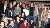 The If/Then cast and creative team takes a company photo.
