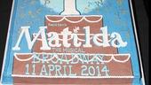Matilda - Anniversary - OP - 4/14 - cake